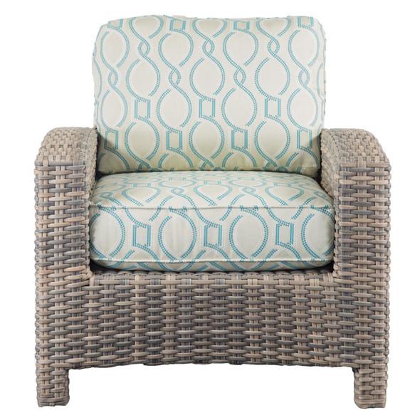 Mambo Outdoor Chair - Twist Resort Fabric - front