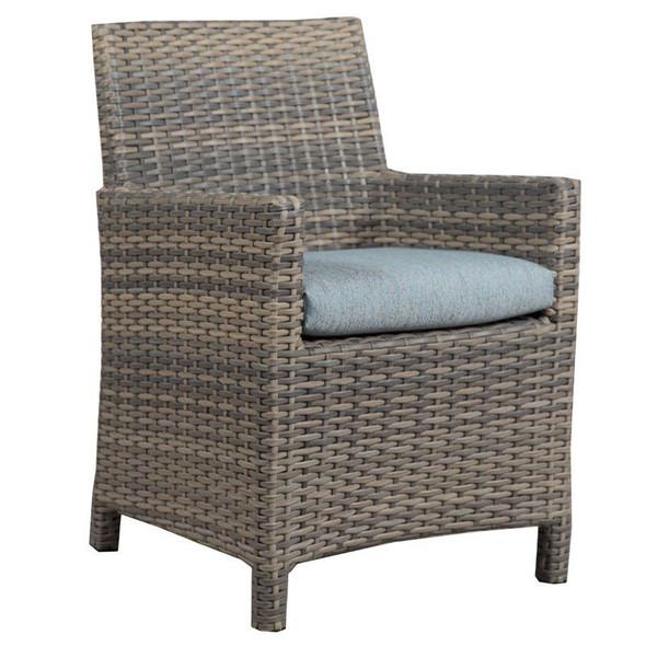 Mambo Outdoor Arm Chair - Adena Azure Fabric