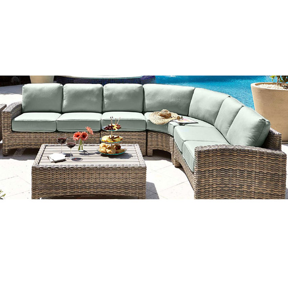 Mambo Outdoor 4 pc. Sectional Set