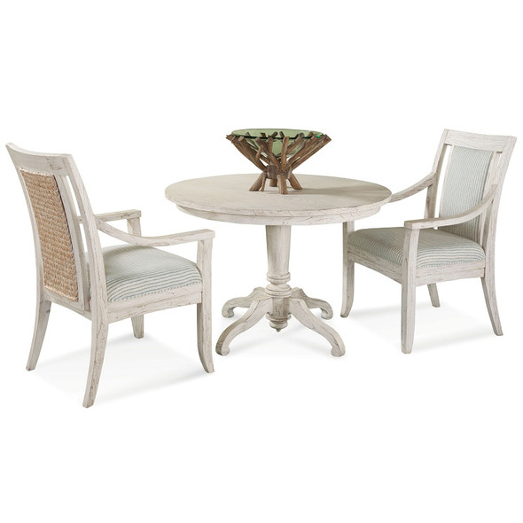 """Fairwind 3 piece 42"""" Dining Set with Arm Chairs"""