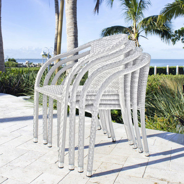 Athens Outdoor Stackable Armchairs
