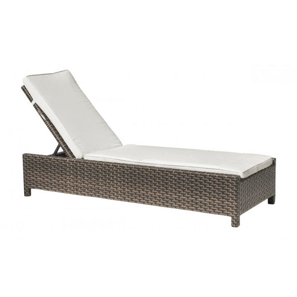 Fiji Outdoor Chaise Lounge with cushion