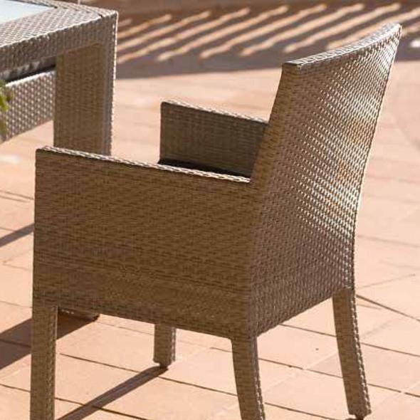 Rubix Outdoor Stackable Armchair