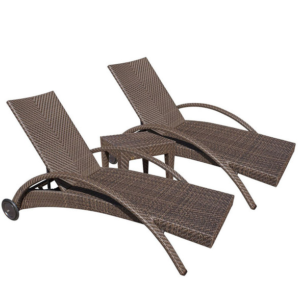 Soho Outdoor 3 piece Chaise Lounge Set