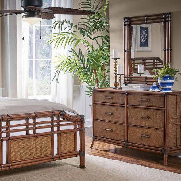 Palm Cove Six Drawer Dresser