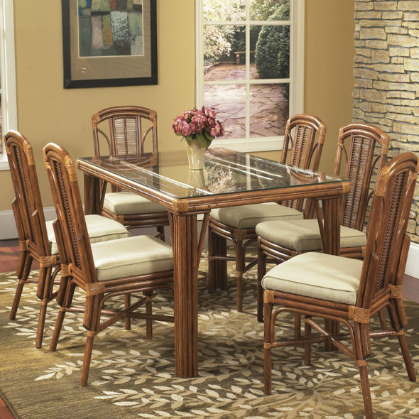 Bayview 7 piece Dining Set with Side Chairs