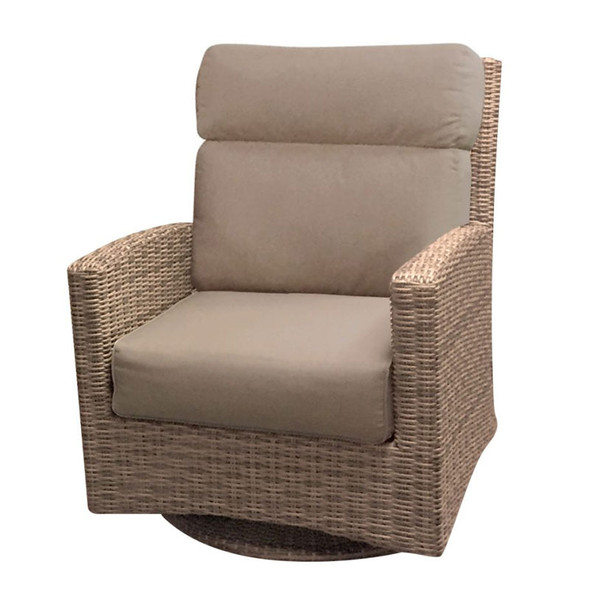 Universal Replacement Cushions for Outdoor High Back Swivel Rocker