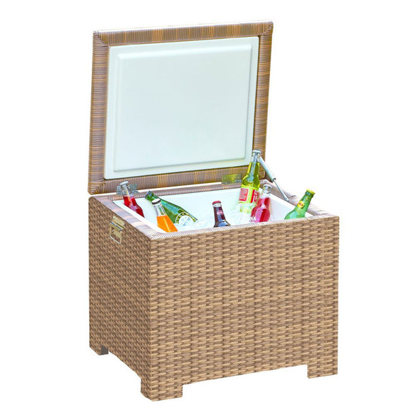 Universal Outdoor Ice Chest with Air Spring and Insert