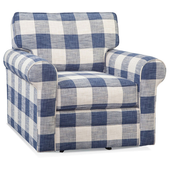 Bedford Swivel Chair in fabric 0120-61 H