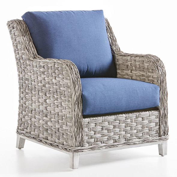 Grand Isle Outdoor Lounge Chair in Soft Granite finish