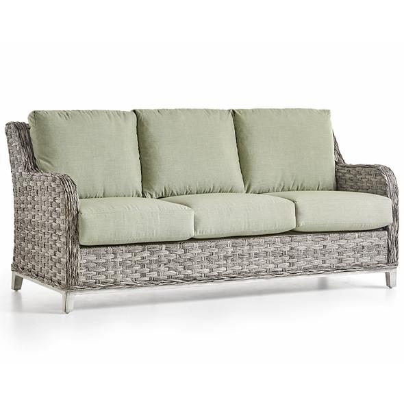 Grand Isle Outdoor Sofa in Soft Granite finish