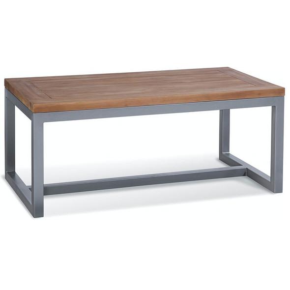 Alghero Outdoor Coffee Table with Teakwood top
