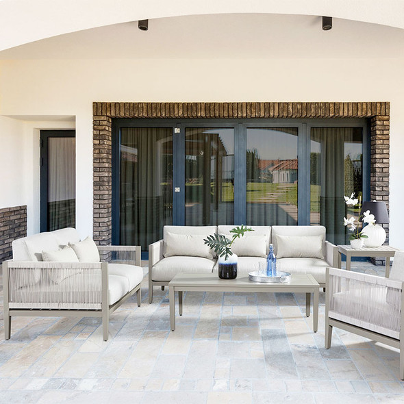Nicole Outdoor Collection in Graystone finish