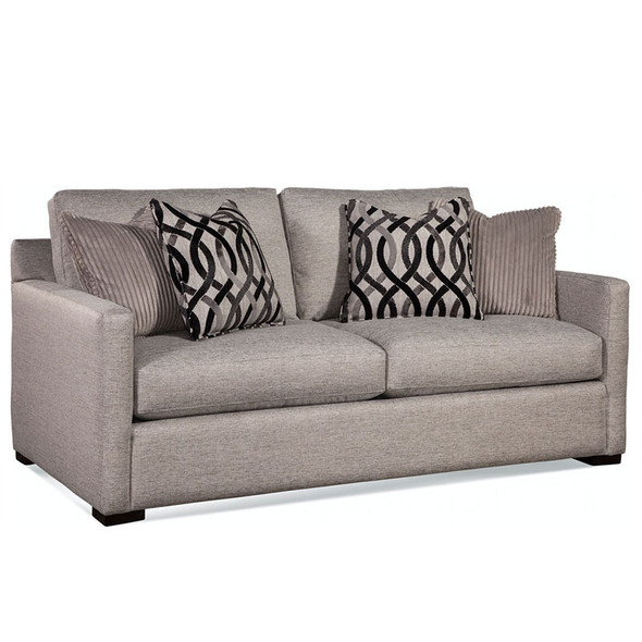 Bel-Air 2 over 2 Sofa in fabric '0358-88 A' and Java finish