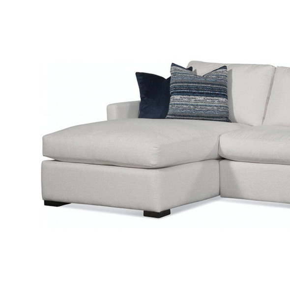 Bel-Air LSF 1-Arm Chaise in fabric '0851-94 A' and Java finish