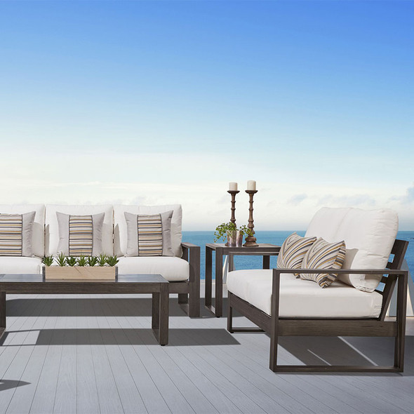 Ryan Outdoor Collection in the gray-brown Nimbus finish