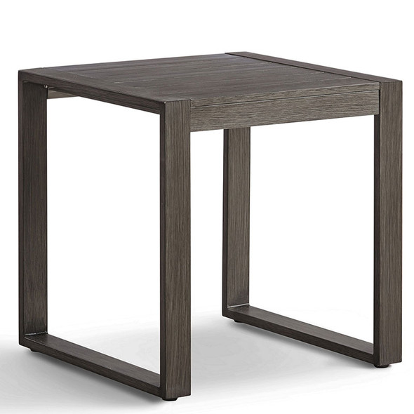 Ryan Outdoor End Table in the gray-brown Nimbus finish