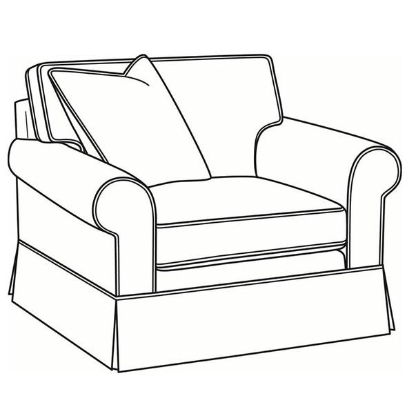 Benton Skirted Lounge Chair