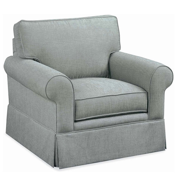 Benton Skirted Arm Chair