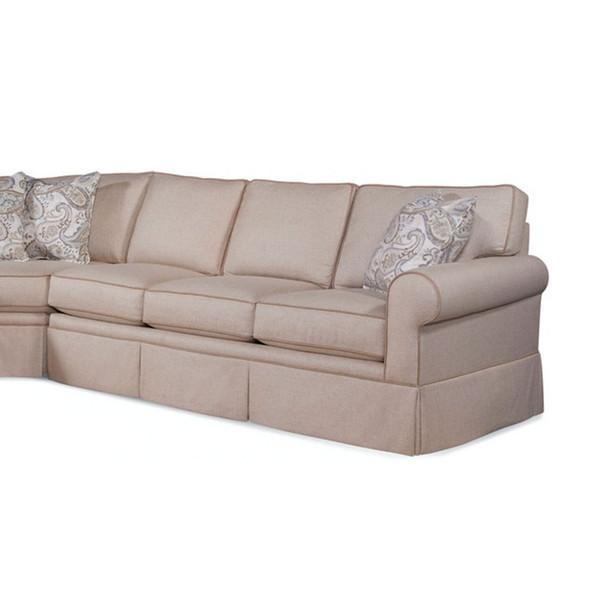 Benton RSF Skirted 1-Arm Sofa