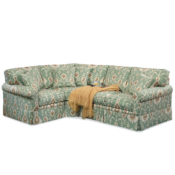 Benton Skirted Upholstered Sectional