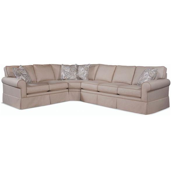 Benton RSF Three-Piece  Skirted Sofa Sectional Set
