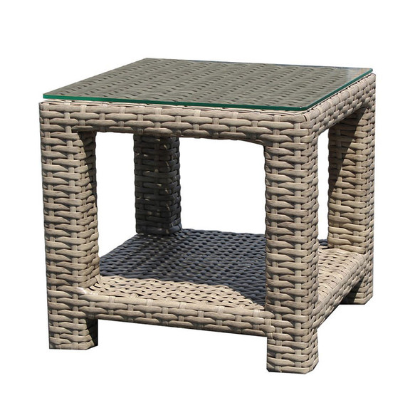 Grand Stafford Outdoor Square End Table