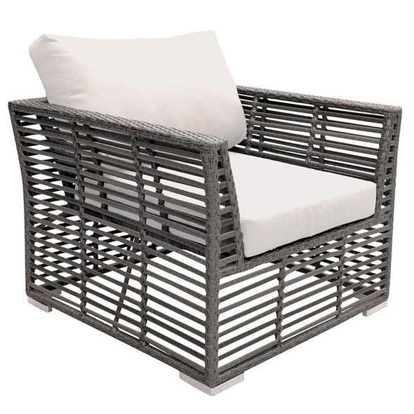 Graphite Outdoor Lounge Chair