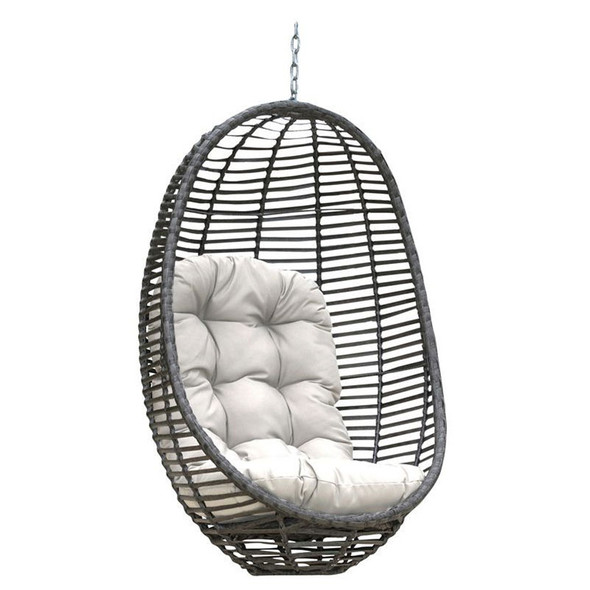Graphite Outdoor Woven Hanging Chair