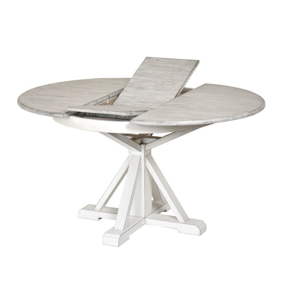 Islamorada Round Dining Table with Butterfly Leaf