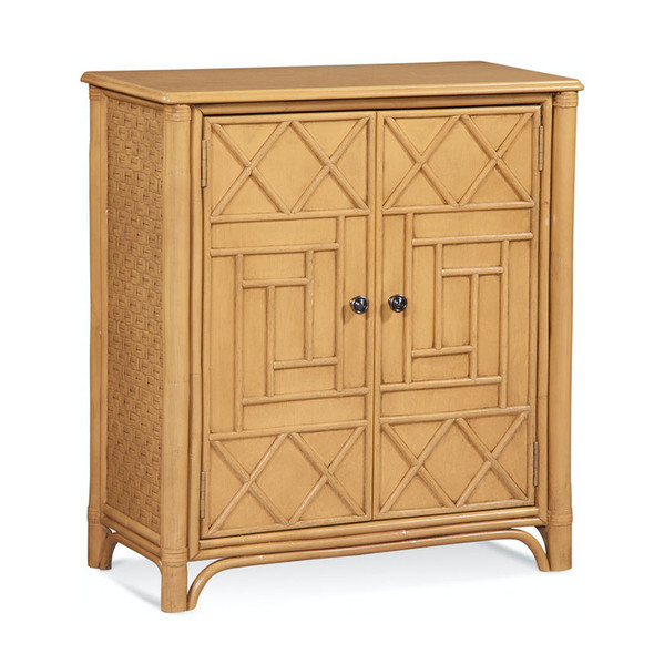 Marion Door Chest in French Yellow finish