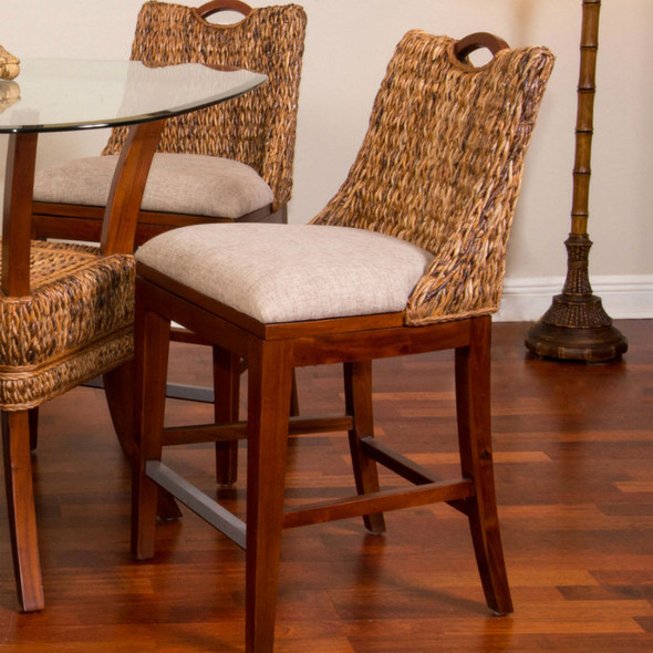 Belize Counter Chair in Sienna finish
