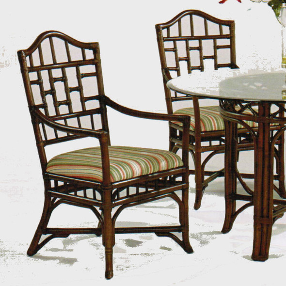 Chippendale Arm Chair in Java finish