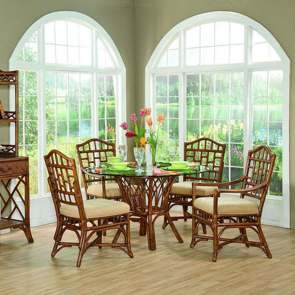 Chippendale Dining Collection in Havana Finish