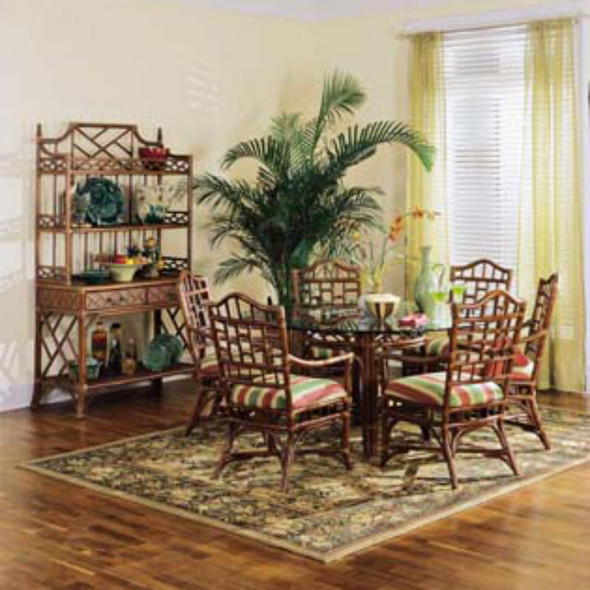 Chippendale Round Dining Set