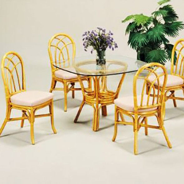 Classic Comfort 5 piece Dining Set with Side Chairs