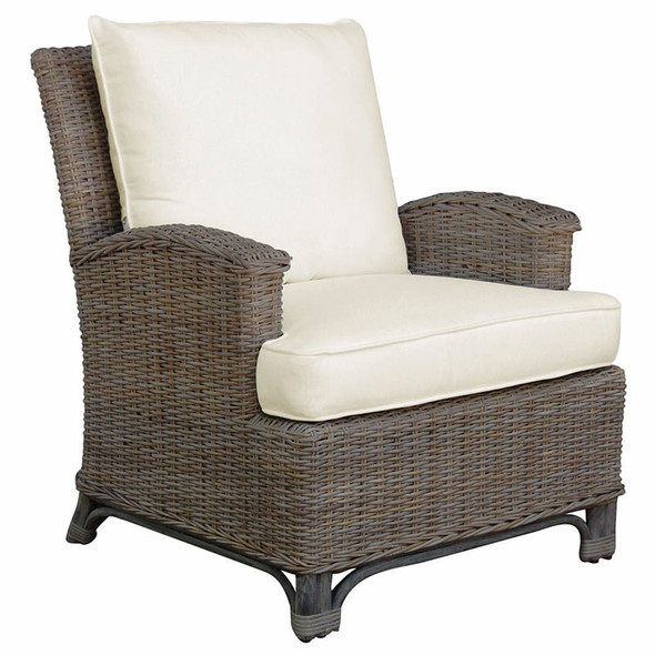 Exuma Lounge Chair in a cotton blend fabric