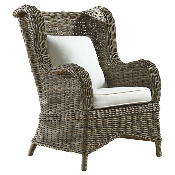 Exuma Occasional Chair in a cotton blend fabric