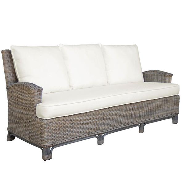 Exuma Sofa in a cotton blend fabric