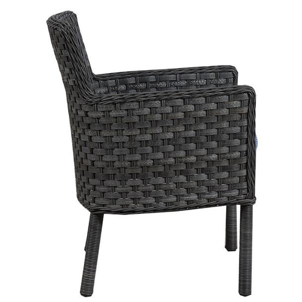 Lorca Outdoor Arm Chair - side