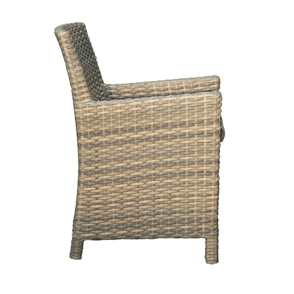 Mambo Outdoor Arm Chair - side