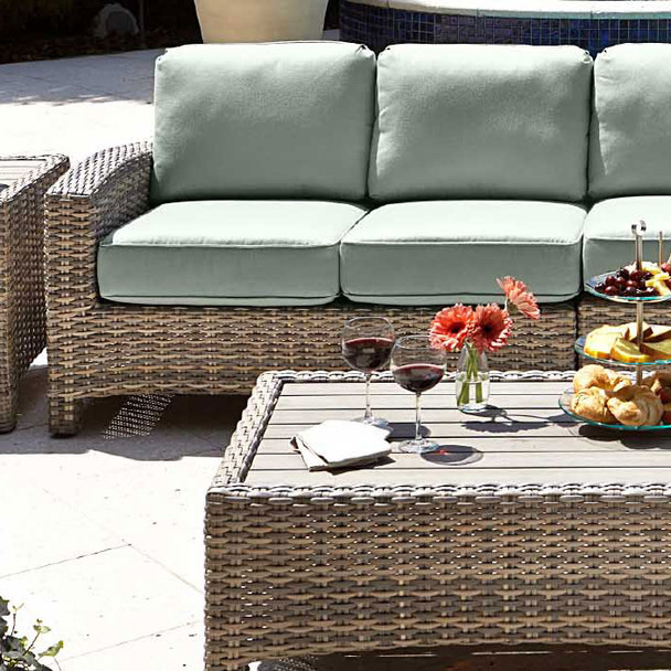 Mambo Outdoor Sectional Left Arm Loveseat