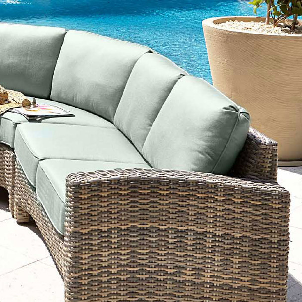Mambo Outdoor Sectional Right Arm Loveseat