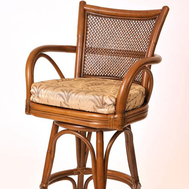 Singapore Barstool in Sienna finish