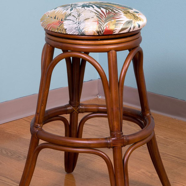 Universal Backless Barstool in Sienna finish