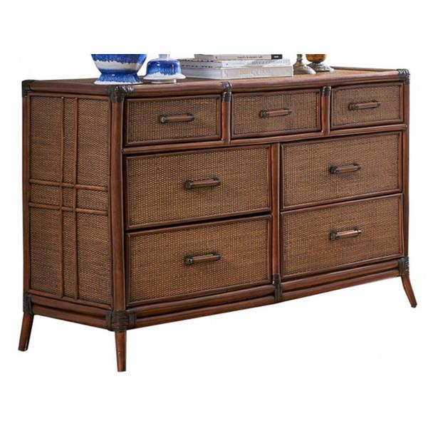 Palm Island 7 Drawer Dresser