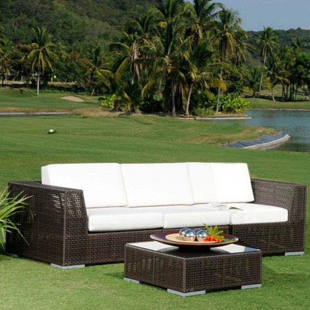 Atlantis Outdoor Deep Seating Sofa