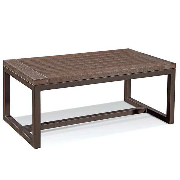 Alghero Outdoor Coffee Table with Java top