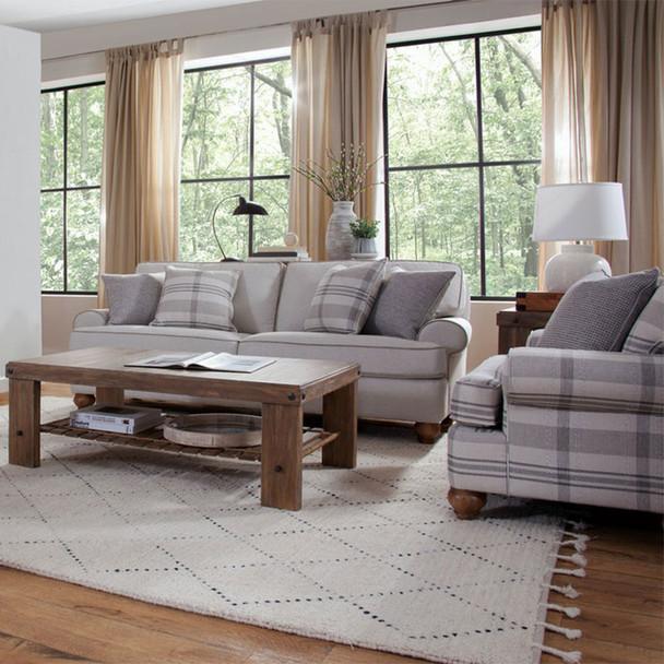 Artisan Landing seating collection in Sun Weathered finish