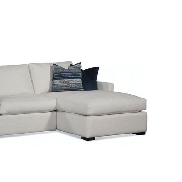 Bel-Air RSF 1-Arm Chaise in fabric '0851-94 A' and Java finish